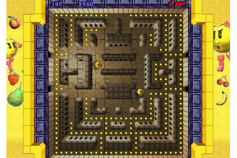 Ms. Pac-Man: Quest for the Golden Maze - описание игры ...