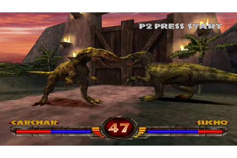 Warpath: Jurassic Park [PS1] - play as Carchar - YouTube