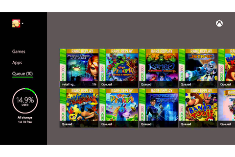 Installing Rare Replay Microsoft Xbox one 30 Great GAMES ...
