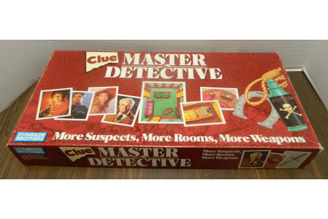 Clue Master Detective Board Game Review | Geeky Hobbies