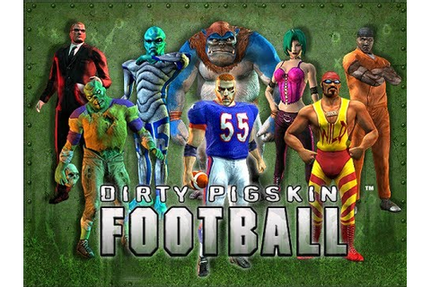 Dirty Pigskin Football Game 1 - YouTube