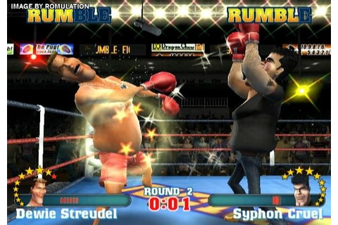 Ready 2 Rumble Revolution (USA) Nintendo Wii ISO Download ...