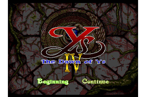 PC Engine / TurboGrafX CD Ys IV: The Dawn of Ys kaufen ...
