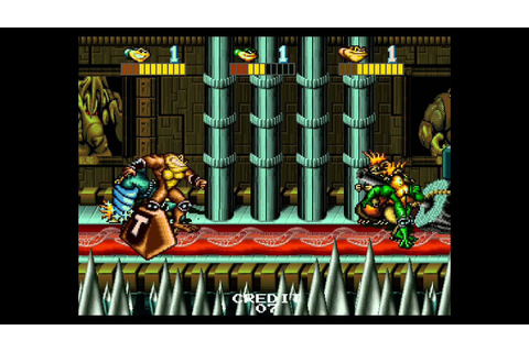Battletoads 3 player Netplay arcade game - YouTube