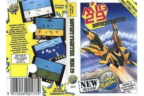 MIG-29 Soviet Fighter | Top 80's Games