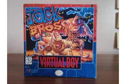 Virtual Boy Jack Bros USA Repro Box NO Game Included | Etsy