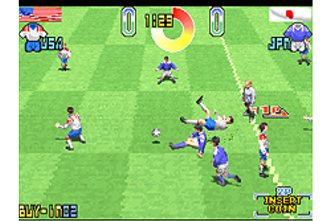 Taito Power Goal (Ver 2.5O 1994/11/03) - Mamepedia - all ...