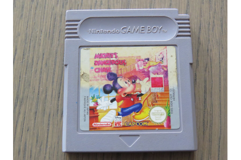 Jeu Nintendo Gameboy Mickey Dangerous Chase Game Boy • EUR ...