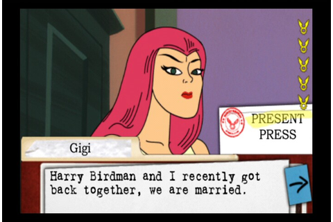 All Harvey Birdman: Attorney at Law Screenshots for Wii ...