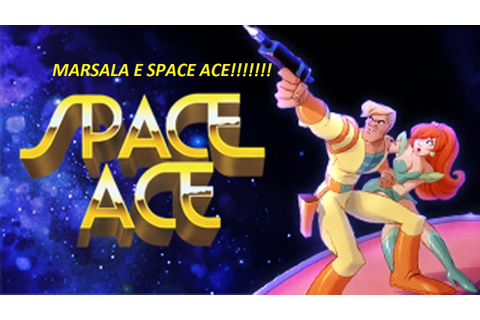 Marsala - SPACE ACE - gameplay Ita (LASER GAMES) - YouTube