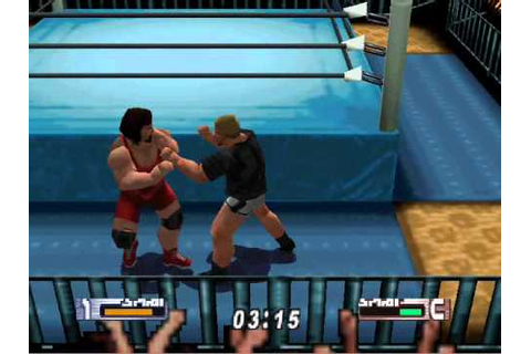 Virtual Pro Wrestling 2-Tournament Match 4 - YouTube