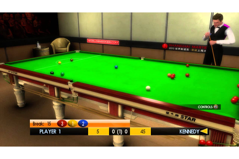 Gameplay WSC Real 11: World Snooker Championship på xbox ...