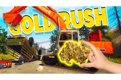 Gold Rush The Game - Pre Alpha - DIGGIN' FOR GOLD! - Gold ...