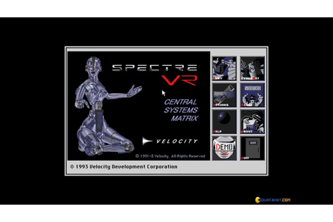 Spectre VR gameplay (PC Game, 1993) - YouTube