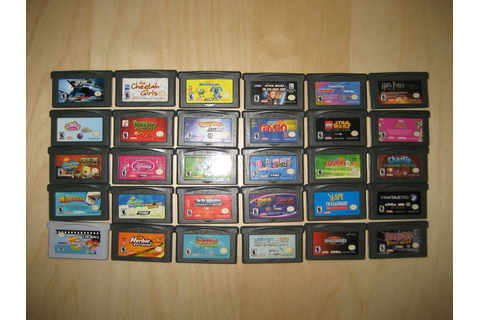 Lot of 30 Nintendo Game Boy Advance 29 Games 1 Video | eBay