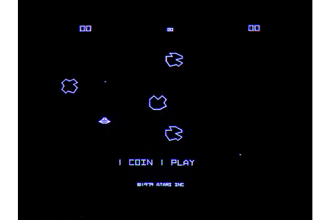 Image Gallery original asteroids game