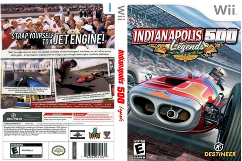 Games Covers: Indianapolis 500 Legends - Wii