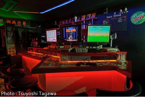 Video Game Bar Space Station (Osaka, Japan): Hours ...
