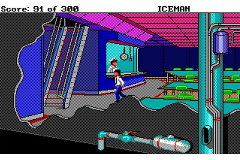 The Adventure Gamer: Game 25: Codename: ICEMAN ...
