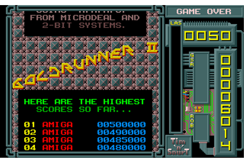Download Goldrunner II - My Abandonware