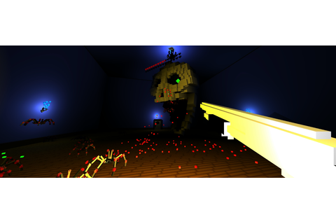Paranautical Activity is a 'voxel based roguelike FPS set ...