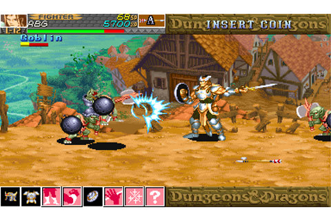 Play Arcade Dungeons & Dragons - shadow over mystara ...