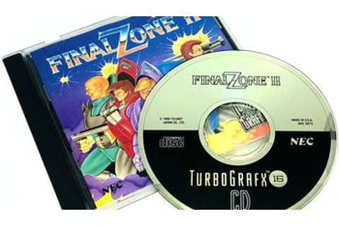 Final Zone II for TurboGrafx-16 (TG16) | PJ's Games