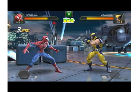 SPIDERMAN vs WOLVERINE and IRON MAN and MORE Fighting Game ...