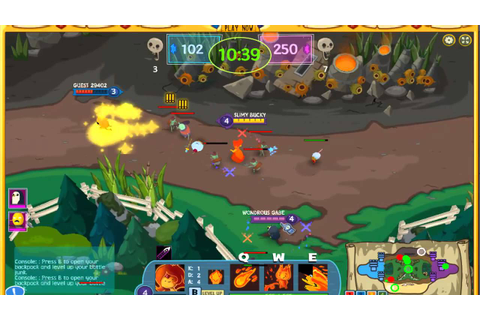 Adventure Time Battle Party Game 1 (MOBA) - YouTube