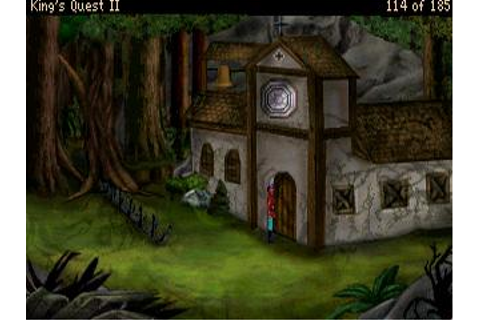 Download Kings Quest II - Romancing the Stones VGA | Abandonia