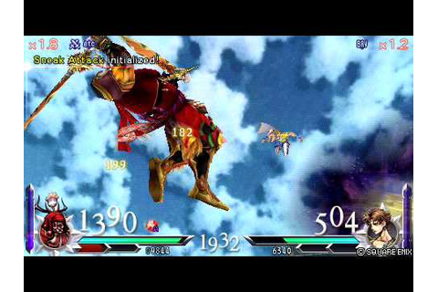 Dissidia 012: Duodecim Final Fantasy (PSP) Download The ...
