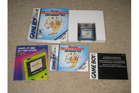 NINTENDO GAME BOY COLOR COMPLETE PUZZLE COLLECTION CIB | eBay