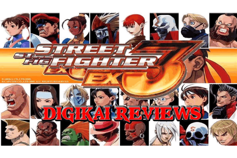 Street Fighter Ex 3 - A Digikai PS2 Review! - YouTube