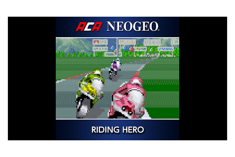ACA NEOGEO RIDING HERO Game | PS4 - PlayStation