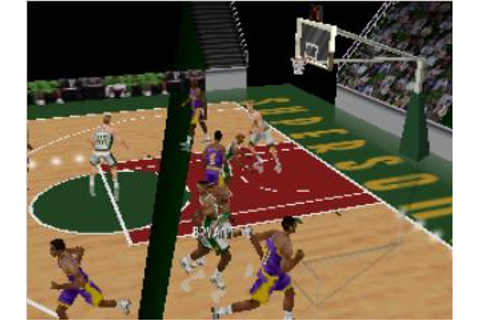 Kobe Bryant in NBA Courtside Nintendo 64 Game