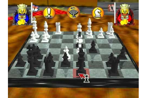 Lego Chess (PC): Black vs. White - YouTube