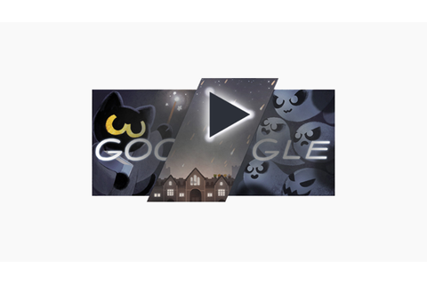 Magic Cat Academy, the Google 2016 Halloween Doodle Game