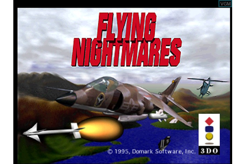 Flying Nightmares for 3DO - The Video Games Museum