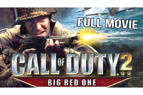 Call of Duty 2 Big Red One Full Game Movie - YouTube