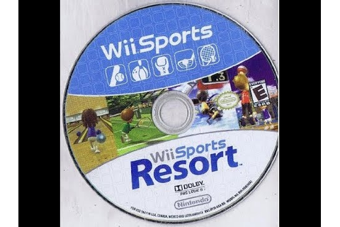 Wii Sports + Wii Sports Resort: 2 Games on 1 Disc Bundle ...