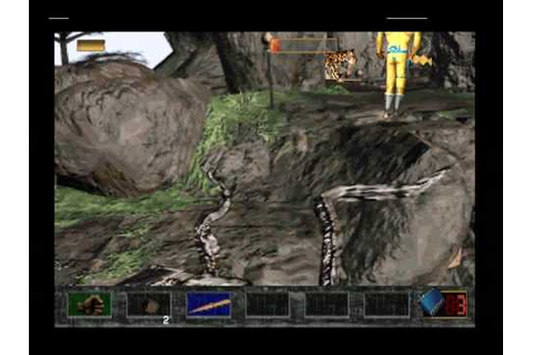 Time Commando (PlayStation) - Prehistory Level 1 (game ...