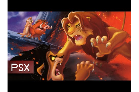 Disney's The Lion King II: Simba's Mighty Adventure - PSX ...