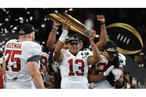 National championship game: Tua Tagovailoa keys Alabama ...