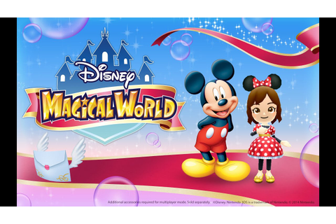 Game & Watch 2014- Disney Magical World 3DS (First Look ...