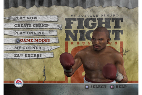 Fight Night Round 2 Screenshots for PlayStation 2 - MobyGames