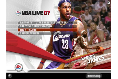 NBA Live 07 Download (2006 Sports Game)