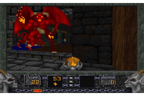 Download Heretic shooter for DOS (1994) - Abandonware DOS