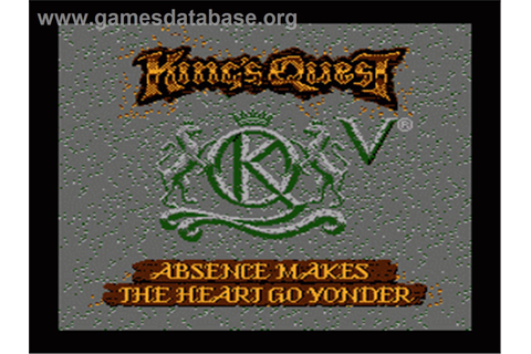 King's Quest V: Absence Makes the Heart Go Yonder ...
