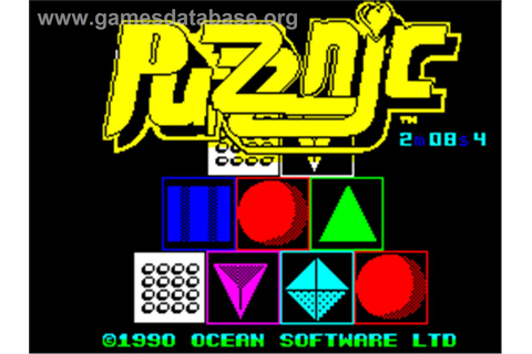 Puzznic - Sinclair ZX Spectrum - Games Database