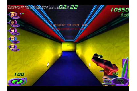 Let's Play Nerf Arena Blast Part 1: Childhood Game - YouTube